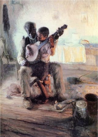 Henry ossawa tanner african american artist sherryart for Atlanta oil painting artists