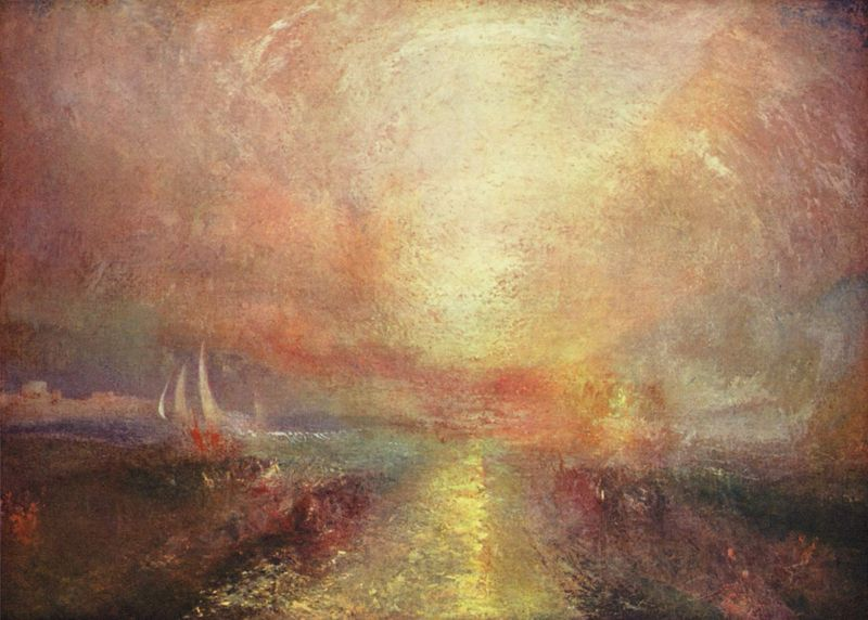 Turner sunset